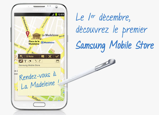 samsung-mobile-store-paris-invitation