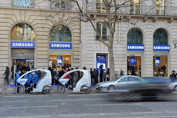SamsungStore_Vitrines