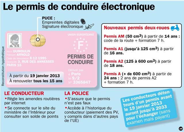 permis de conduire electronique pour novembre 2013 alice vachet. Black Bedroom Furniture Sets. Home Design Ideas